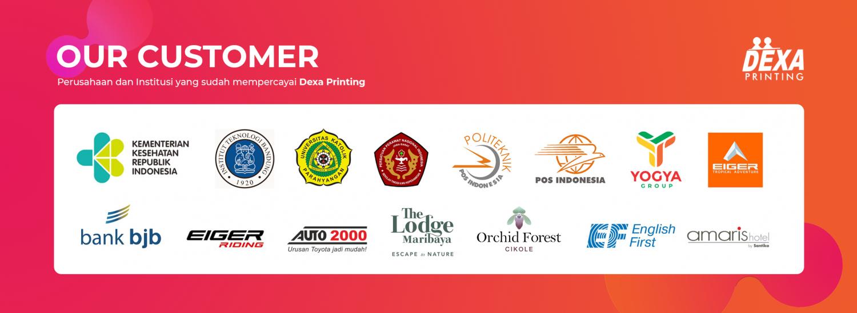 Kami Telah bekerja sama dengan banyak perusahaan dia antaranya, Yogya Group, The Lodge Maribaya, Eiger, Orchid Forest, ITB, Politeknik Pos Indonesia, STIKep PPNI Jabar, Pos Indonesia, Bank BJB dan masih banyak lainya