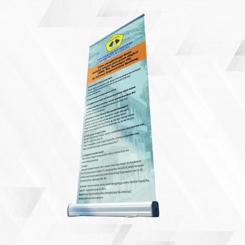 percetakan online, Percetakan terdekat Roll Up Banner jasa cetal roll up banner termurah